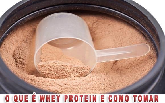 whey protein para que serve como tomar preço comprar