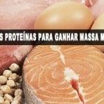 Os melhores alimentos para ganho de massa muscular – 1° Parte: As proteínas