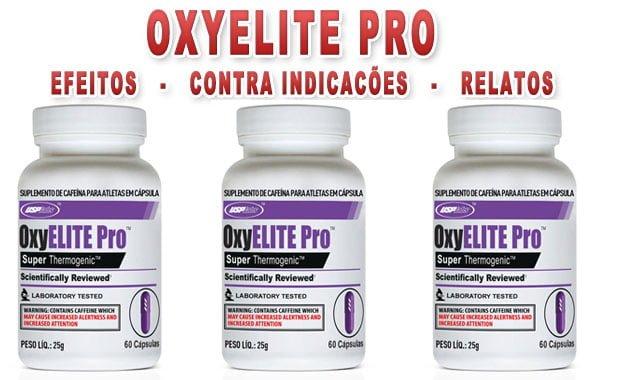 oxyelite pro efeitos contra indicações relatos