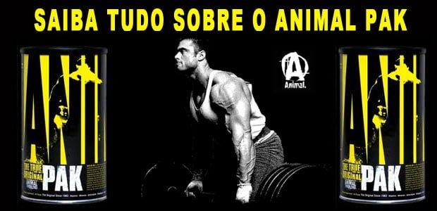 Animal pak efeitos resultados para que serve