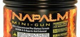 Napalm Mini-Gun da Muscle Warfare – suplemento para pré-treino