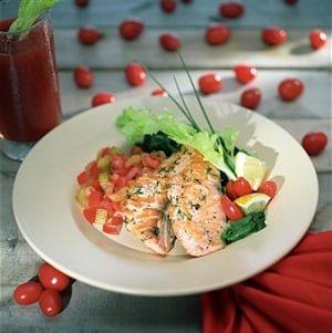 receita salmão dieta low-carb sem carboidratos