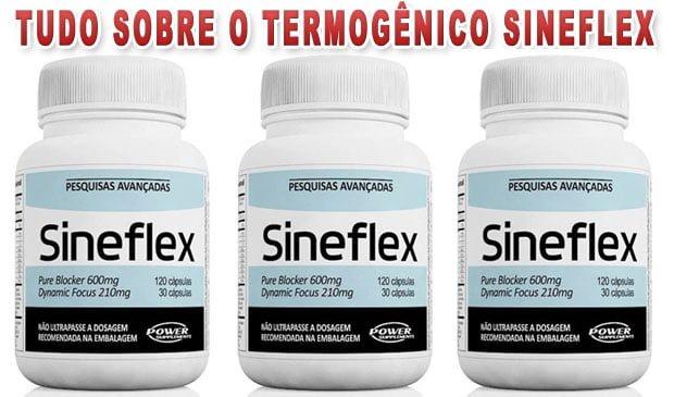 Sineflex - Benefícios, efeitos colaterais e como funciona