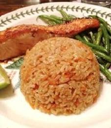 arroz integral com cenoura