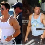 mark wahlbergpain and gain bastidores fotos