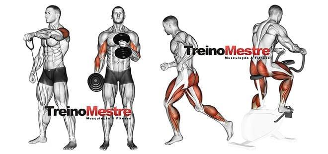 Aeróbicos antes ou depois da musculação?