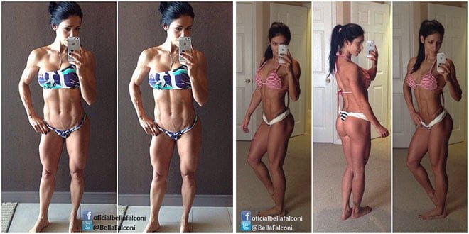 Bella Falconi instagram fotos