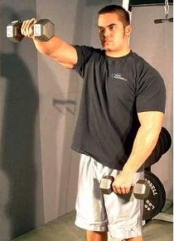 elevacao frontal exercicios ombro