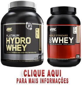 Platinum Hydro Whey e 100% Whey Gold Standard Optimum Nutrition