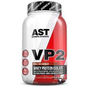 VP2 whey Protein Isolate AST Sports Science