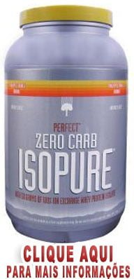 Zero Carb ISOPURE Perfect Natures Best