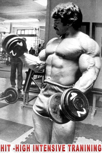 mike mentzer hit High Intensity Training
