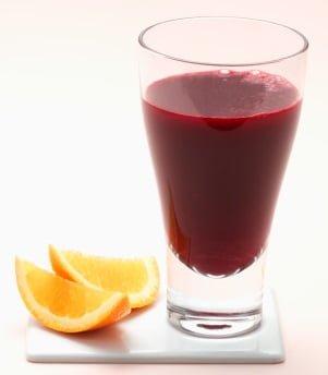 receitas de suco de beterraba com laranja