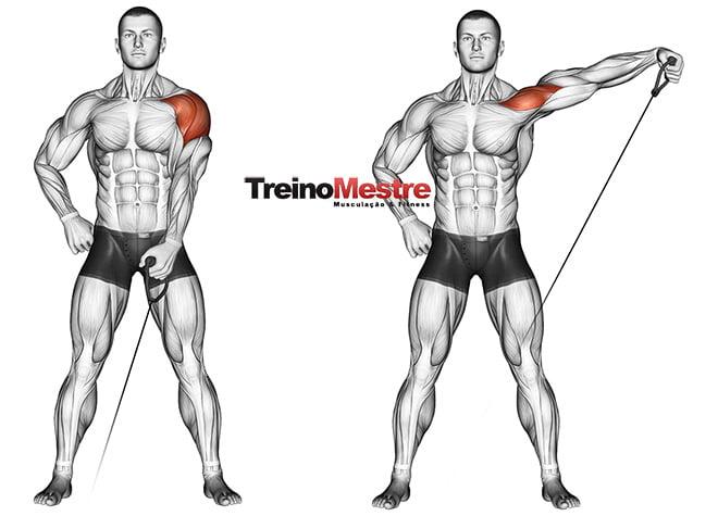 exercícios para ombros mais fortes