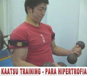 kaatsu training treino para hipertrofia