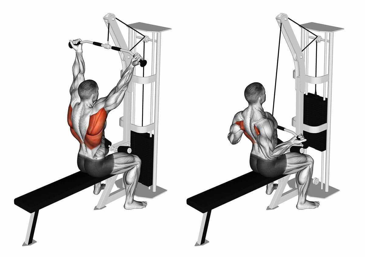 Narrow Bench Press. Exercising Rod Narrow Grip Bench Press ...  Tricep Pulldown Vs Pushdown