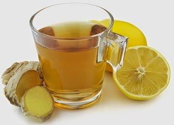 chá de limao e gengibre emagrece detox
