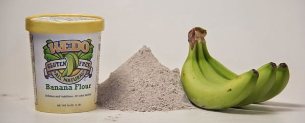 farinha de banana verde benefícios como preparar