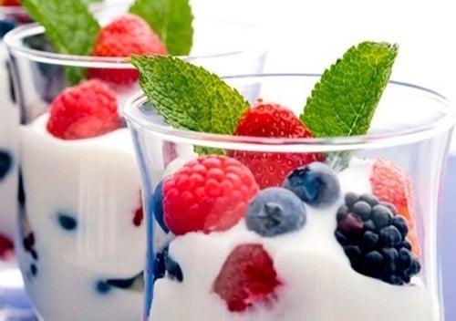 iogurte receitas emagrecer