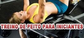 Treino de peito para iniciantes (6 exercícios com vídeo)
