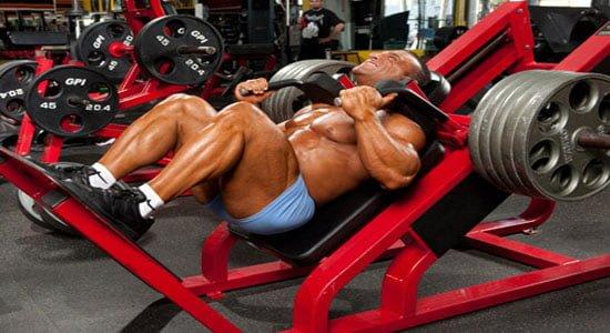 agachamento hack squats
