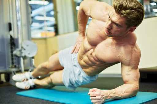 Exercícios abdominais - Treino de oblíquos