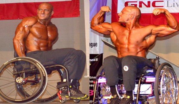 musculação para cadeirantes
