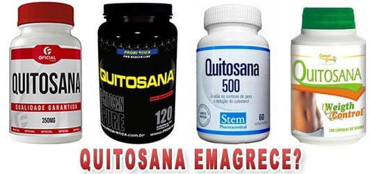 quitosana emagrece como funciona efeitos colaterais