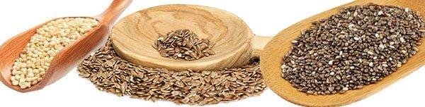 semente de chia quinoa e linhaça qual melhor emagrece mais
