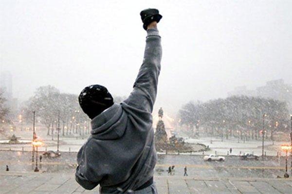 rocky balboa motivação musculação sucesso