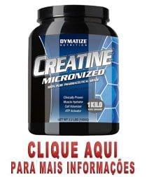 creatina micronizada dymatize nutrition