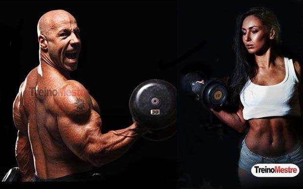 quebrando plato musculação treino resultados