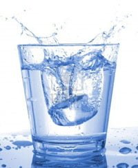 agua gelada emagrece
