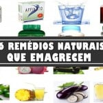 16 Remédios naturais para emagrecer