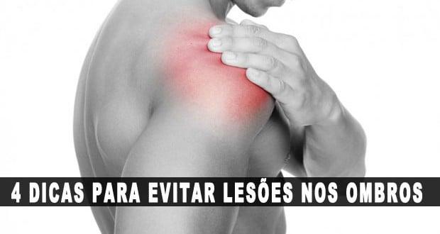 Como proteger seus ombros de lesões – 4 dicas importantes