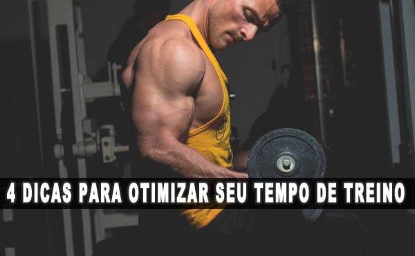 diminuir treinamento como otimizar o tempo de treino