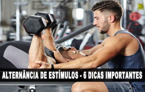 Alternância de estímulos na musculação