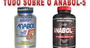 Anabol 5 e o Anabol-5 Black Ultra Concentrado Nutrex
