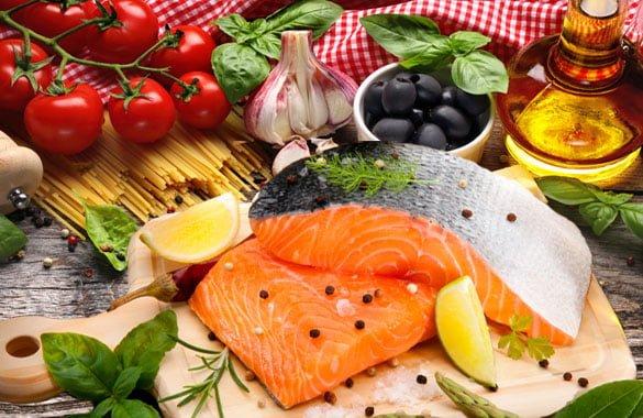 Resultado de imagem para dieta do mediterrâneo
