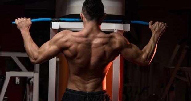 Exercicios com o peso do corpo barras