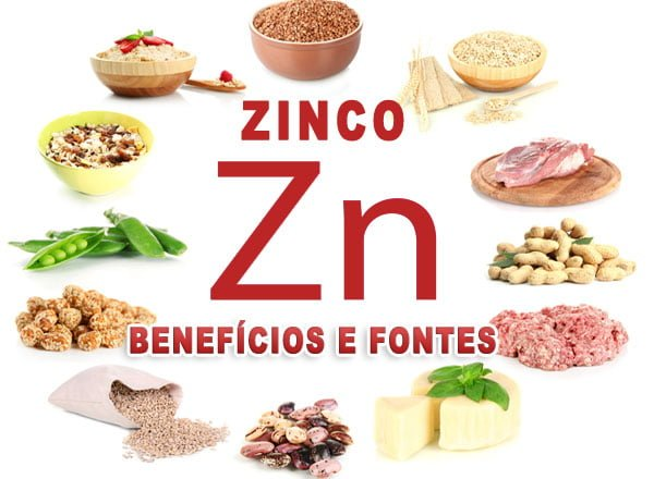 Zinco - Seus benefícios para saúde e fontes alimentares