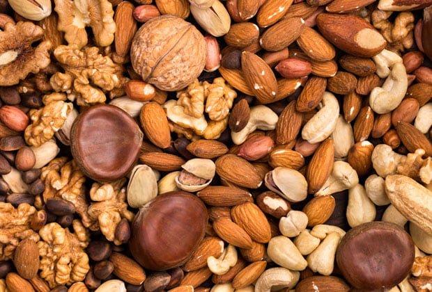 Amendoas Castanhas e nozes beneficios e como consumir