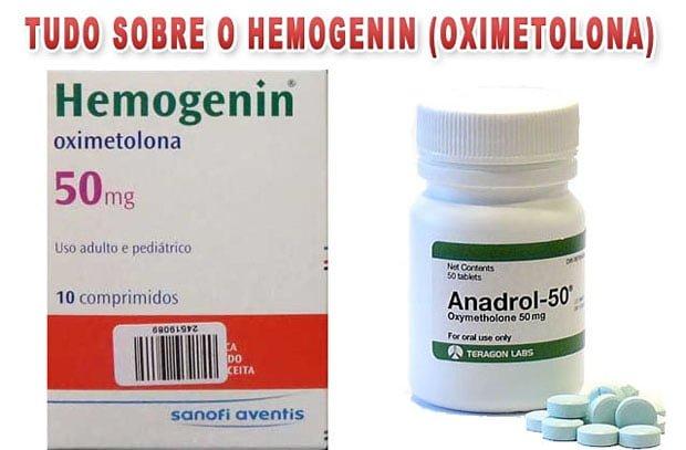 Hemogenin Oximetolona ciclos e efeitos colaterais