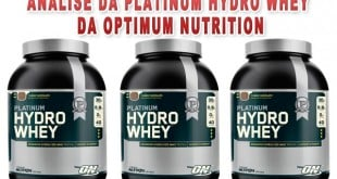 Platinum Hydrowhey optimum nutrition analise e relato
