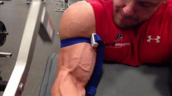 Treinamento com oclusão vascular