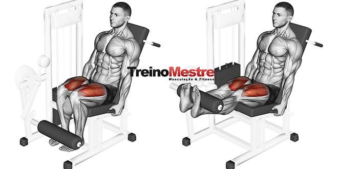 Cadeira extensora, como potencializar os resultados? (4 dicas importantes)
