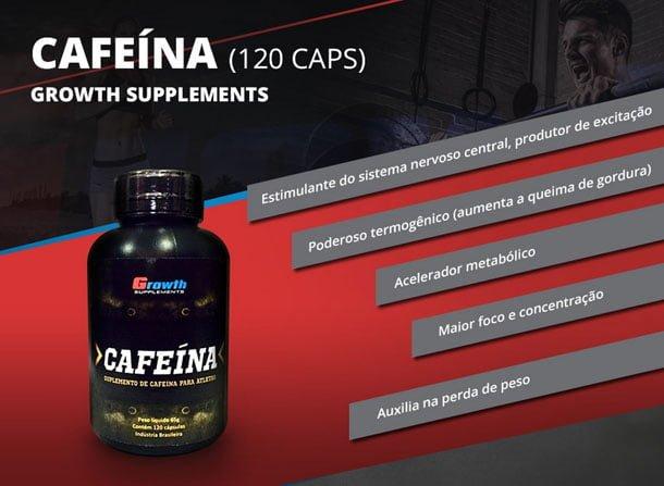 Cafeína da Growth Supplements