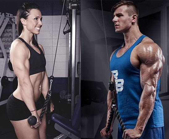 treino para tríceps