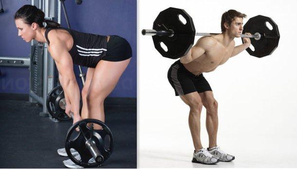 Stiff e good morning diferenças exercícios