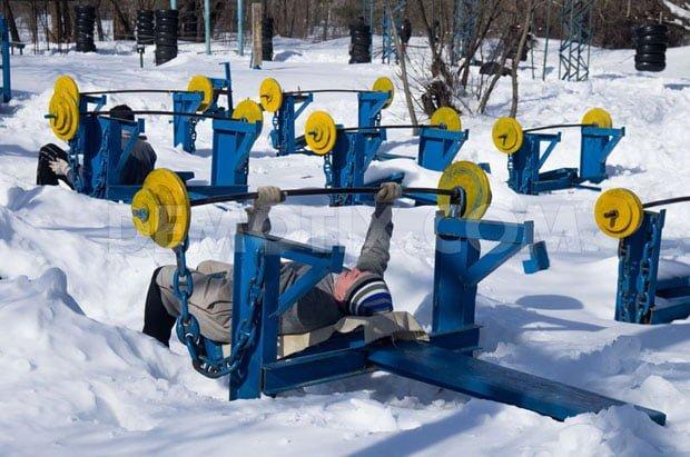 como treinar no frio - inverno